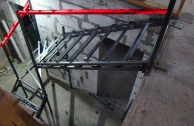 каркас лестницы лунёво