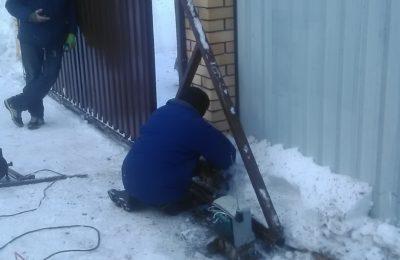 ремонт откатных ворот в лобне