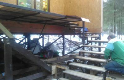15.03.17 Лестница- Входная група. д Подосинки