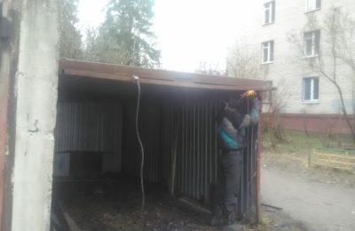 10.04.17 Ремонт гаража ракушки в Депо