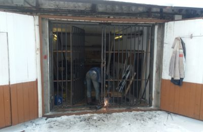 Химки ул репина сварка ворот в гараже